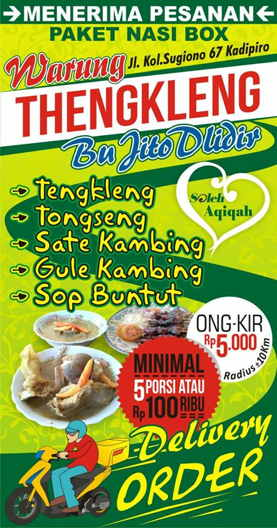 Delivery makanan solo