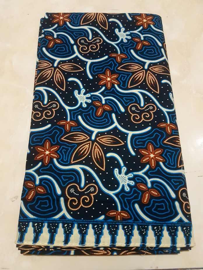 Koleksi batik solo bagian printing
